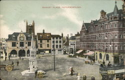 View of Market Place Postcard
