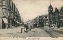 Alcester Road, Mosely Postcard