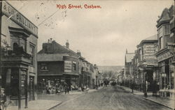 High street, Cosham Postcard