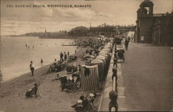 The Bathing Beach, Westonville, Margate