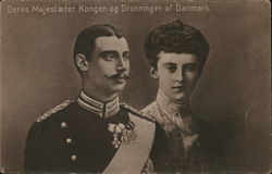 Their Majesties the King and Queen of Denmark