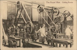 The Royal Mint Cutting Room