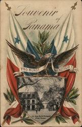 Souvenir of Panama - Santa Ana Park & Thirteenth Street