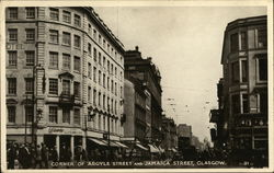 Corner of Argyle Street and Jamaica Street, Glasgow