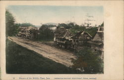 Houses of the middle class, Jaro (American Baptist Missionary Union, Boston) Postcard