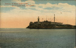Morro Castle from the outside