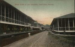 Street Scene at Las Cascadas