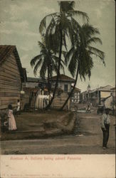 Avenue A Before being paved Panama