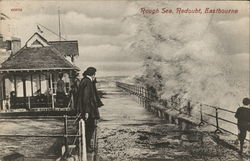 Rough Sea, Redoubt, Eastbourne