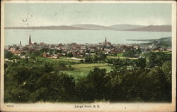 Largs from the southeast