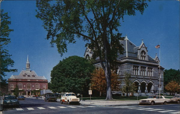 City Hall and Post Office Concord New Hampshire