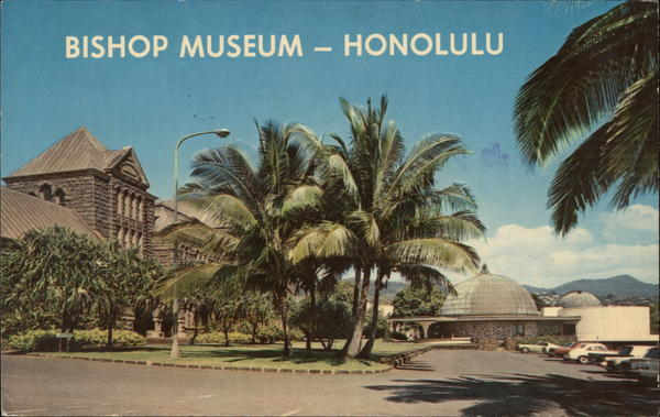 Bishop Museum Honolulu Hawaii