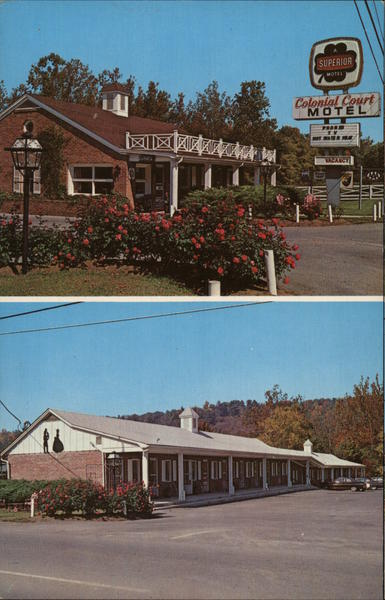 Colonial Court Motel White Sulphur Springs West Virginia
