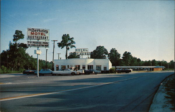 The Berkeley Restaurant & Motel Inc. Moncks Corner South Carolina