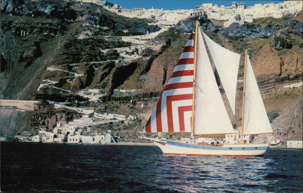 Yankee off Thira Greece Greece, Turkey, Balkan States