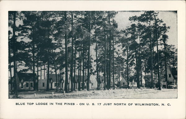 Blue Top Lodge in the Pines Wilmington North Carolina