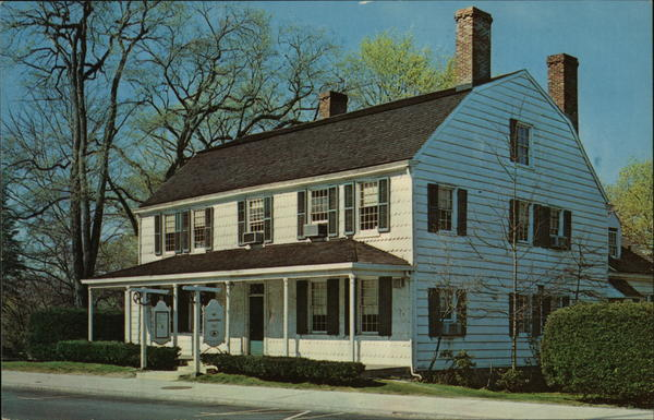 The Square House - Headquarters of Rye Historical Society New York