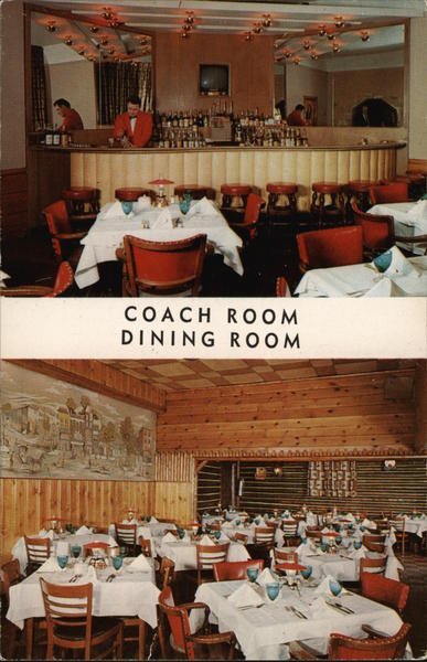 Coach Room - Dining Room Chicago Illinois
