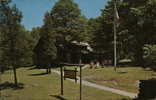 Club House, Masonic Camp Bear Mountain New York Freemasonry