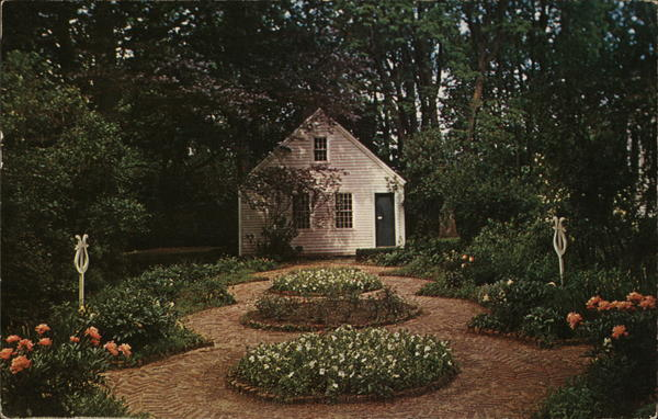 Colonial Garden, First American Law School Litchfield Connecticut
