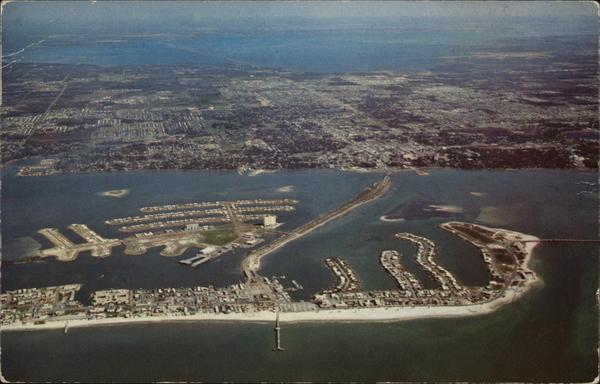 Aerial Map of Clearwater Bay, Florida