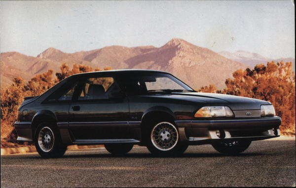 1987 Ford Mustang GT Cars