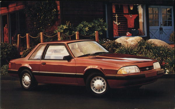 1987 Ford Mustang Cars