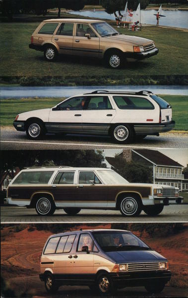 1987 Ford Wagons Cars