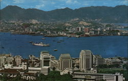 Panorama of Kowloon and Victoria City