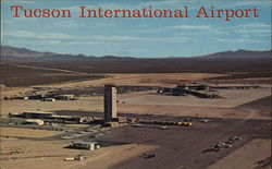 Aerial View, Tucson International Airport