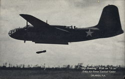 Skip Bombing With an A-20, Army Air Forces Tactical Center