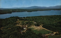 Aerial View of Geneva Point Camp