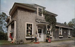 The Santa Claus Shop at Christmas Cove, Maine Postcard
