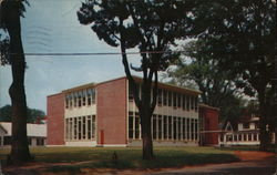 Library and Classrooms of State Teachers College Postcard