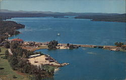 Naples and Long Lake Postcard