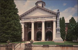 Carroll County Courthouse Postcard