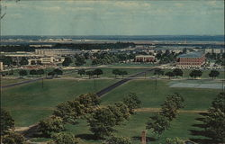 View of Fort Dix Looking Toward Headquarters
