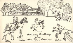 Holiday Greetings from the John Kellams Postcard
