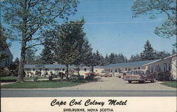 Cape Cod Colony Motel Postcard