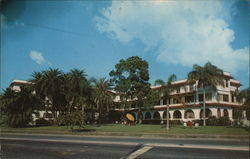 Sunset Residential Hotel Postcard