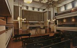 Auditorium of Unity Temple