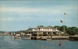Indian Harbor Yacht Club Postcard
