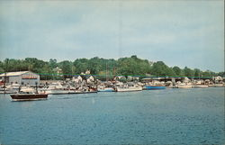 Cos Cob Cove Postcard
