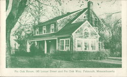 Pine Oak House Postcard