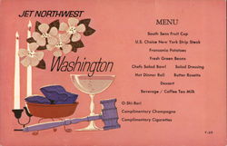 Jet Northwest - Washington Menu