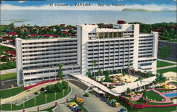 Arial View of the Hotel Panama