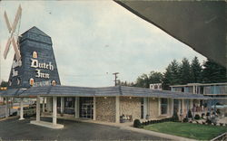 Dutch Inn of Hendersonville Postcard