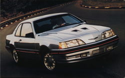 1987 Thunderbird Turbo Coupe.