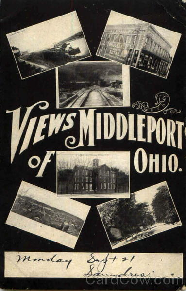 View Of Middleport Ohio