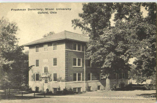 Freshman Dormitory , Miami University Oxford Ohio